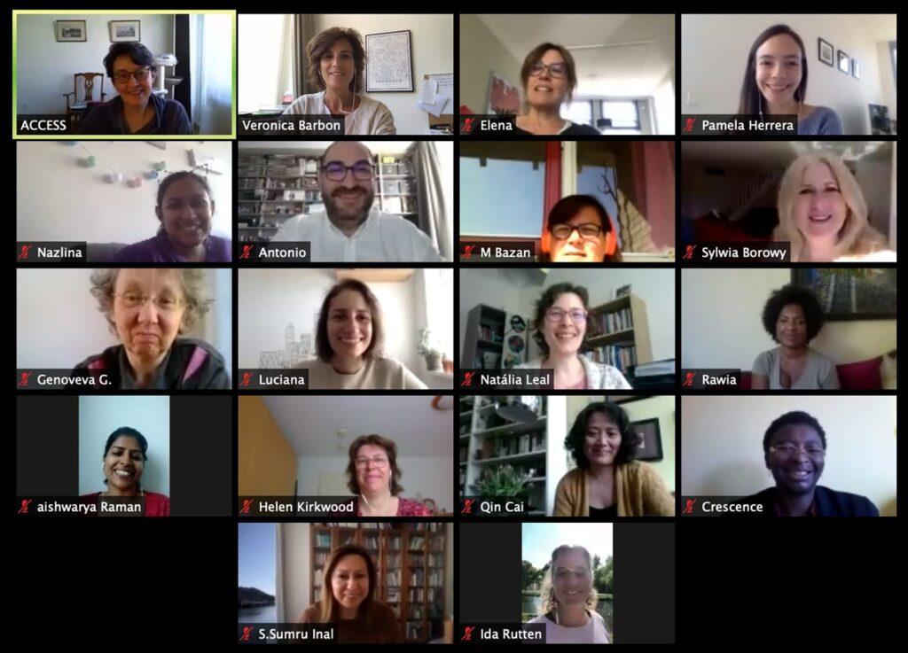 ACCESS Virtual Team Meeting