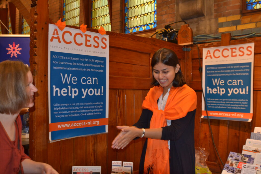 ACCESS patron: Personalised service for Int'l employees